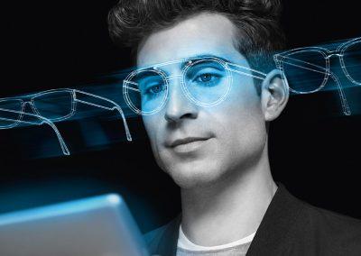 Passendes Brillengestell finden